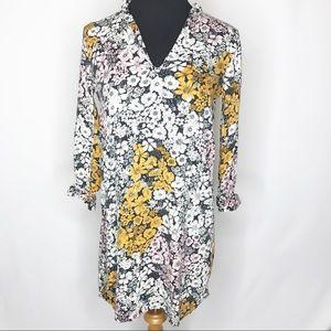 H&M | Floral 3/4 Sleeve Dress 6